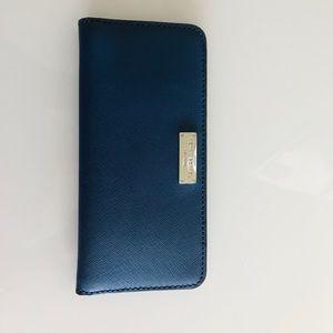 Henri Bendel   Blue wallet NWOT